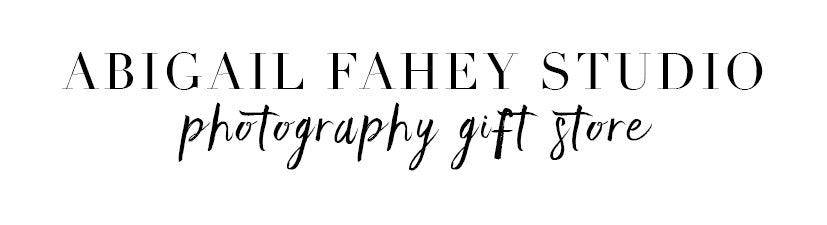 Abigail Fahey Photography Gifts
