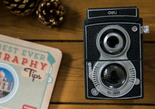 Retro Camera Shaped Pencil Sharpener