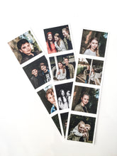 vintage photo booth strips