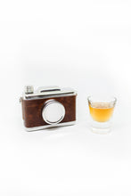 Stainless Steel Hip Flask Camera