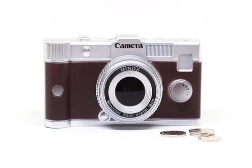 Retro Camera Money Box