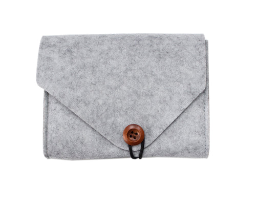 Large Felt Accessories Pouch