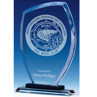 Euphoria clear glass plaques