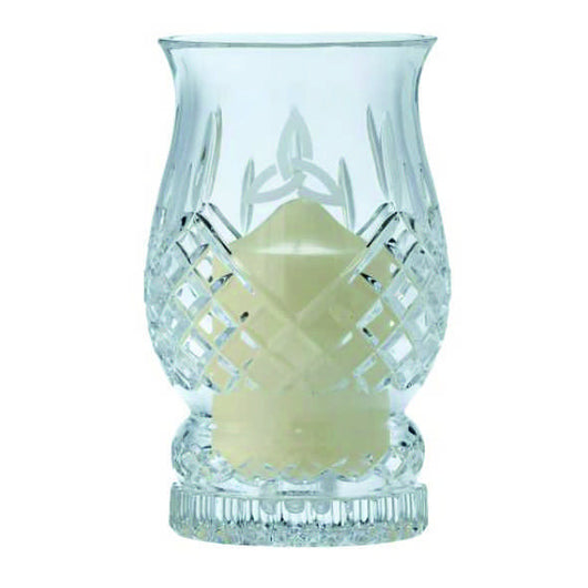 Galway Crystak Hurricane lamp