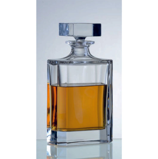 Rectangular decanter