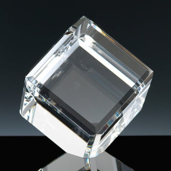 WhiteFire optical crystal balancing cube