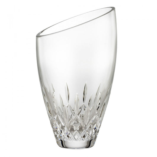 Waterford Crystal Lismore Essence Angle Round Vase Crystal Clear