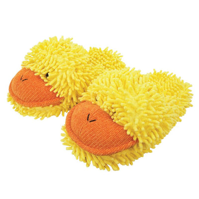 Aroma Home Fuzzy Friends Slippers - Duck
