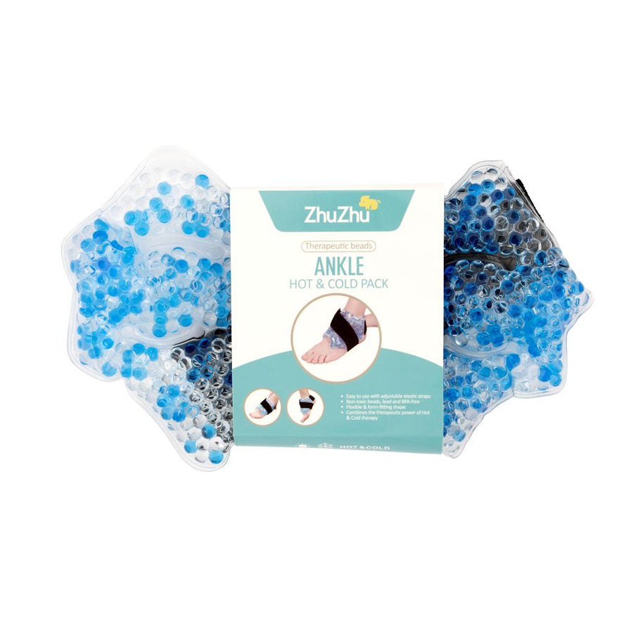 Zhu-Zhu Ankle Hot & Cold Pack Therapeutic Gel Beads