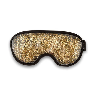 Zhu-Zhu Glitter Gel Hot & Cold Eye Mask - Gold