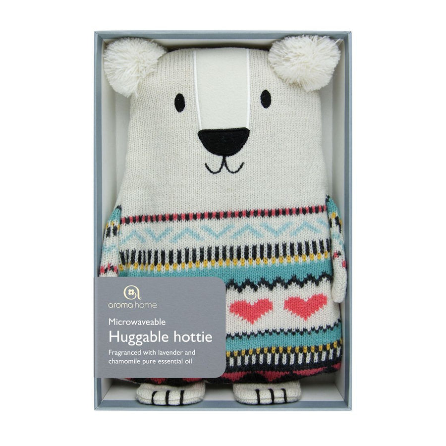 Aroma Home Microwavable Huggable Hottie - Polar Bear