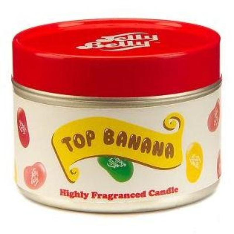 Jelly Belly Top Banana Candle Tin