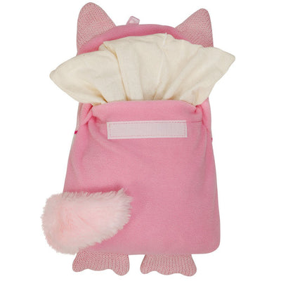 Aroma Home Knitted Microwave Hottie - Pink Cat