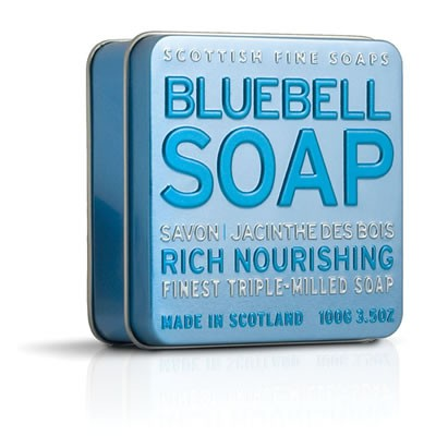 Scottish Fine Soaps - Bluebell Soap in a Tin