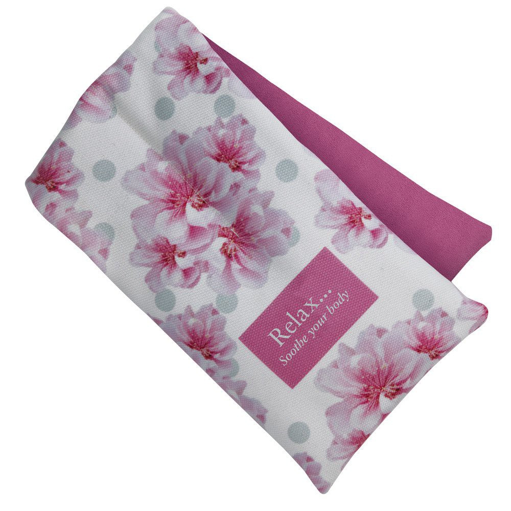Aroma Home Cherry Blossom Scented Floral Microwave Body Wrap