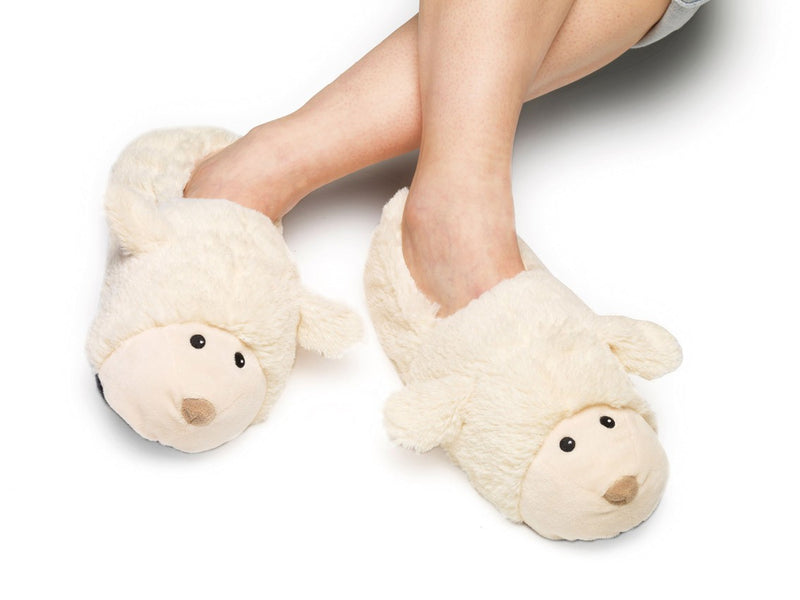 Intelex Cozy Heads Heatable Slippers - Kids - Sheep