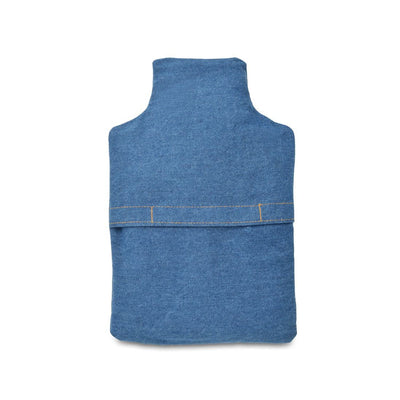 Zhu-Zhu Hot Bottle Body Warmer Microwavable Wheat Bag - Denim Daisy Chain