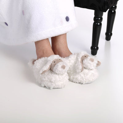 Zhu-Zhu Furry Animal Slippers - Dog