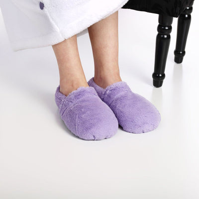 Zhu-Zhu Lilac Plush Microwavable Slippers
