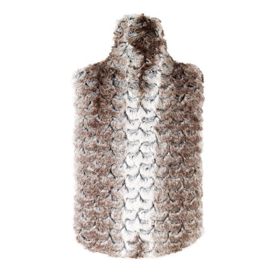 Aroma Home Fawn Faux Fur Microwaveable Body Warmer