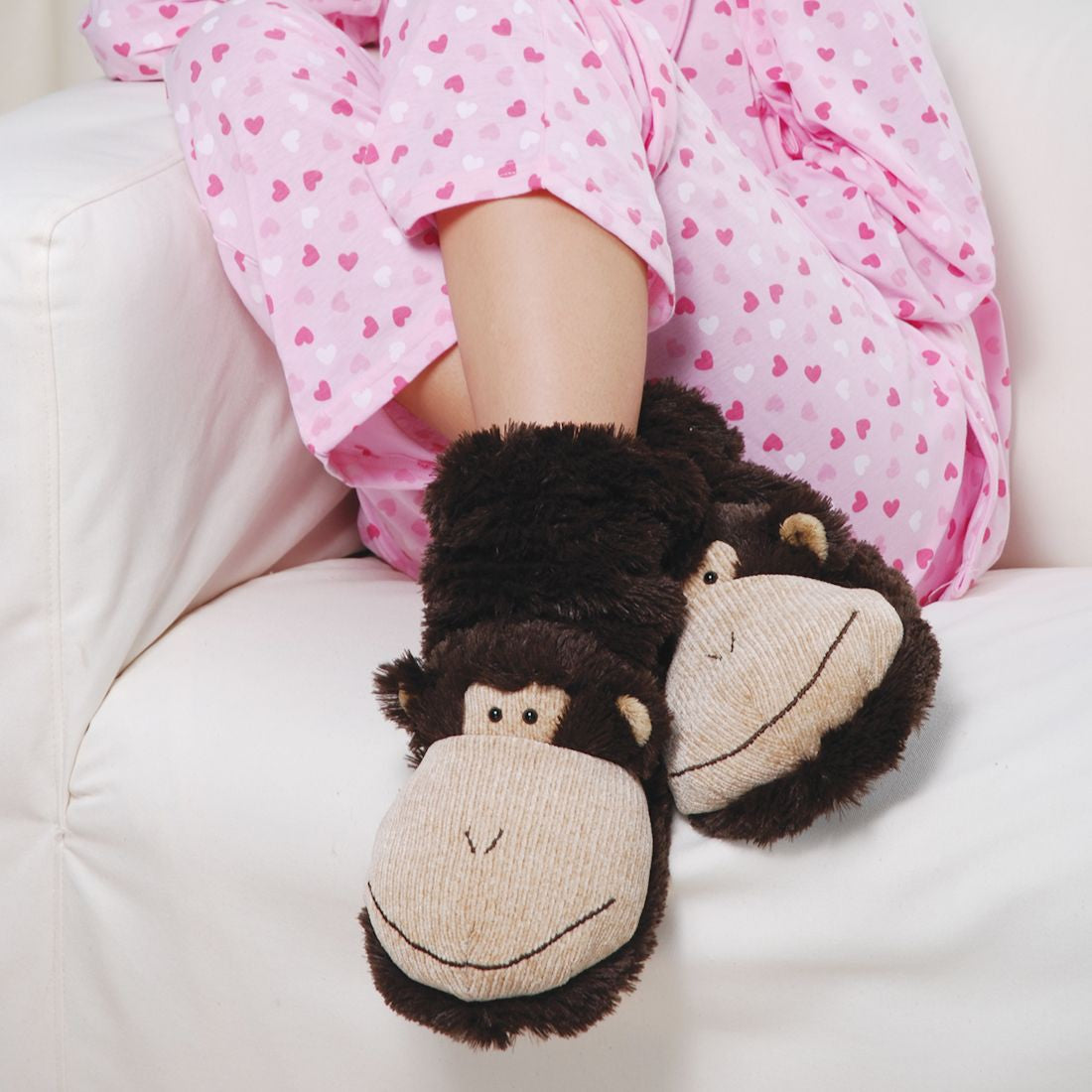 Aroma Home Fun For Feet Slipper Socks - Monkey