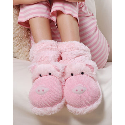 Aroma Home Fun For Feet Slipper Socks - Pig