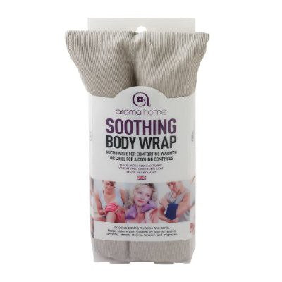 Aroma Home Soothing Body Wrap - Grey