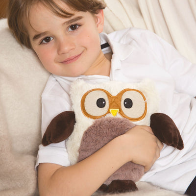 Intelex Hooty Cream Owl - Microwave Heatable