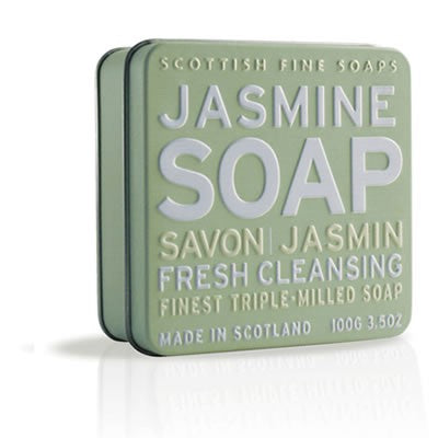 Scottish Fine Soaps - Jasmine Soap in a Tin