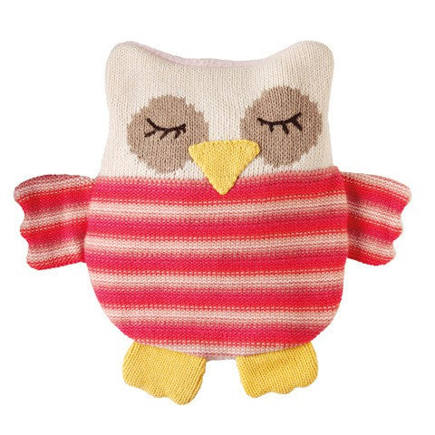 Aroma Home Knitted Snuggle Hotties - Owl