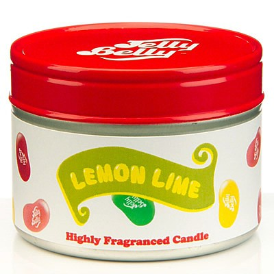 Jelly Belly Lemon Lime Candle Tin