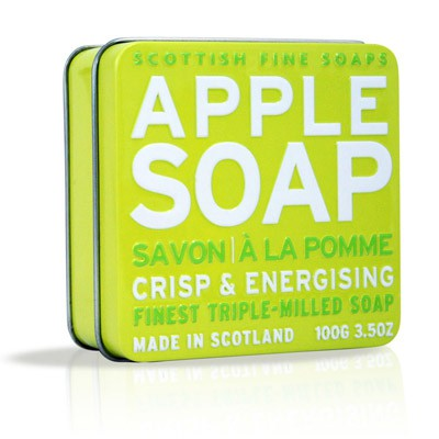 Scottish Fine Soaps - Apple Soap in a Tin