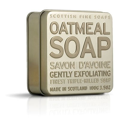 Scottish Fine Soaps - Oatmeal Soap in a Tin