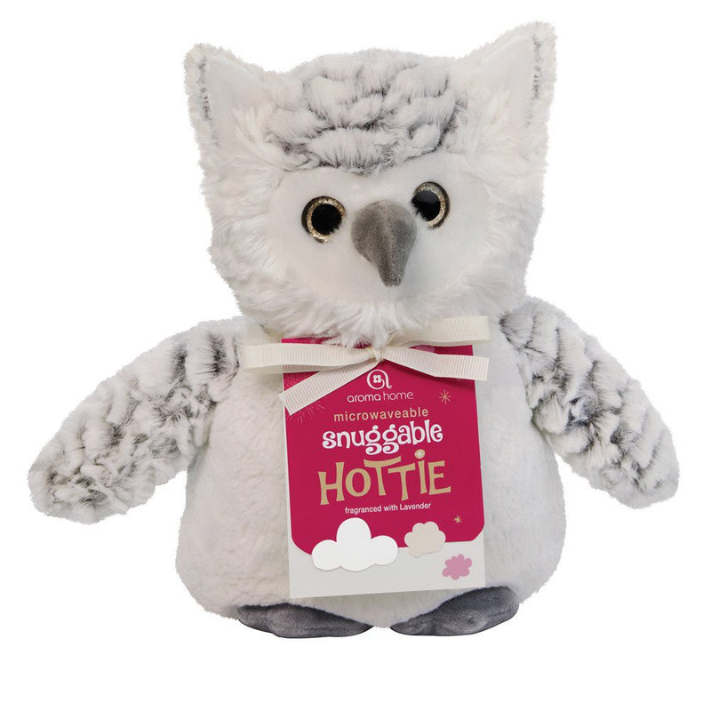 Aroma Home Snow Owl Snuggable Microwave Hottie