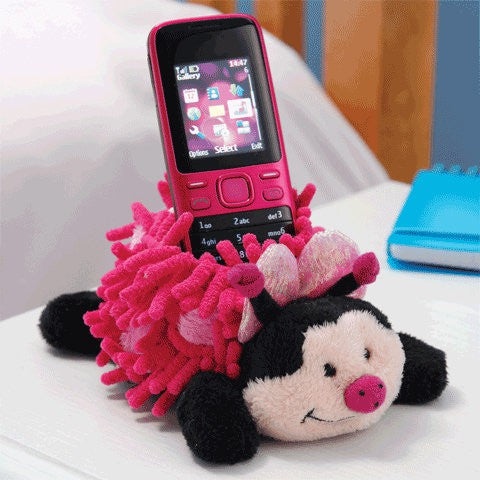 Aroma Home Mobile Phone Holder - Butterfly Purple Bug