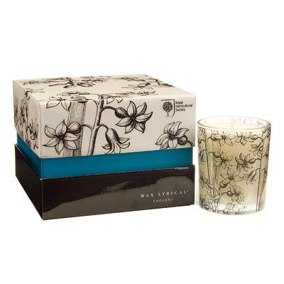RHS Chelsea 4 Scented Bourbon Candles - Hyacinth