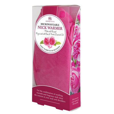 Aroma Home Soothing Cord Neck Warmer Rose & Neroli Scented