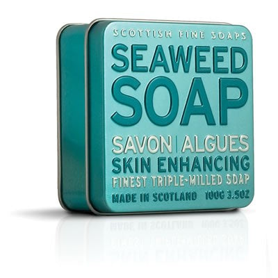 Scottish Fine Soaps - Seaweed Soap in a Tin