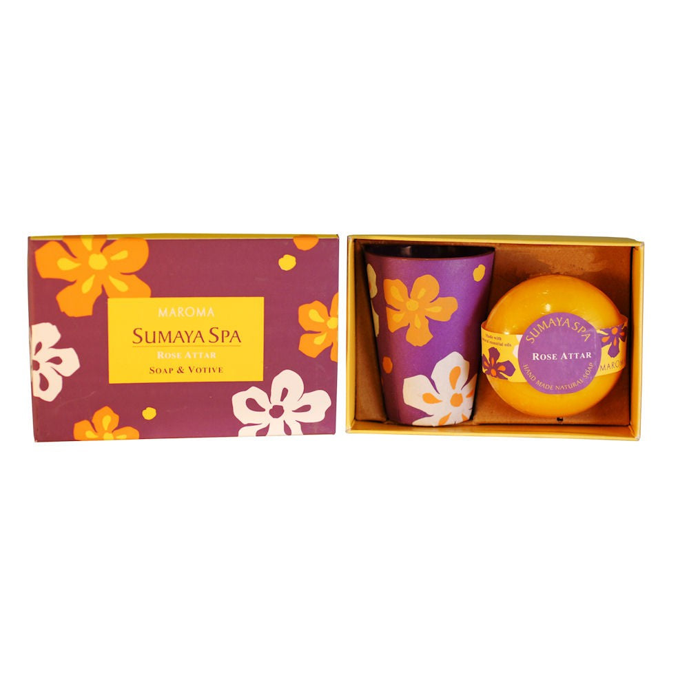 Maroma Sumaya Spa Gift Set - Rose Attar