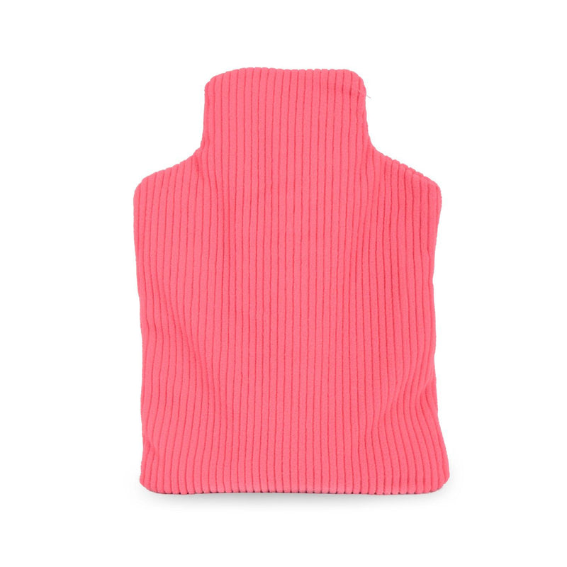 Zhu-Zhu Hot Bottle Body Warmer Microwavable Wheat Bag - Pink Fleece