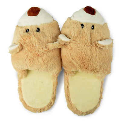 Zhu-Zhu Plush Animal Slippers - Bear