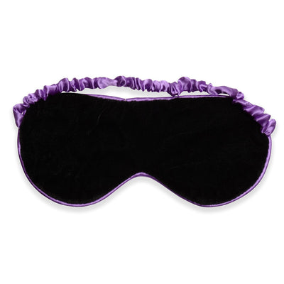 Zhu-Zhu Silk Lavender Eye Mask - Purple
