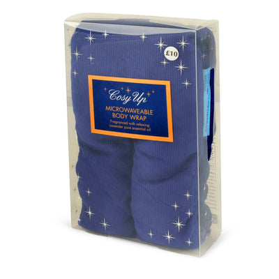 Cosy Up Lavender Microwaveable Body Wrap - Blue