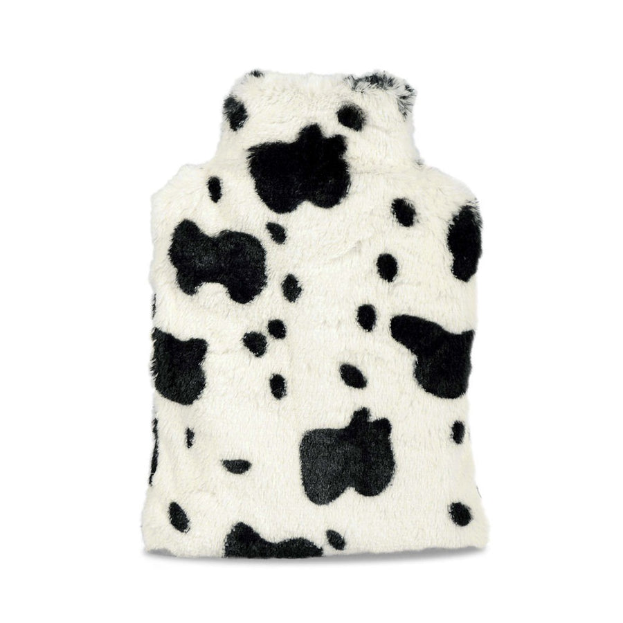 Zhu-Zhu Cow Plush Hot Bottle Body Warmer - Microwavable Wheat Bag