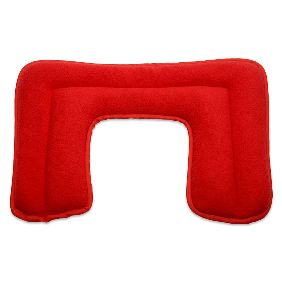 Zhu-Zhu Neck & Shoulder Heat Pad - Red Fleece