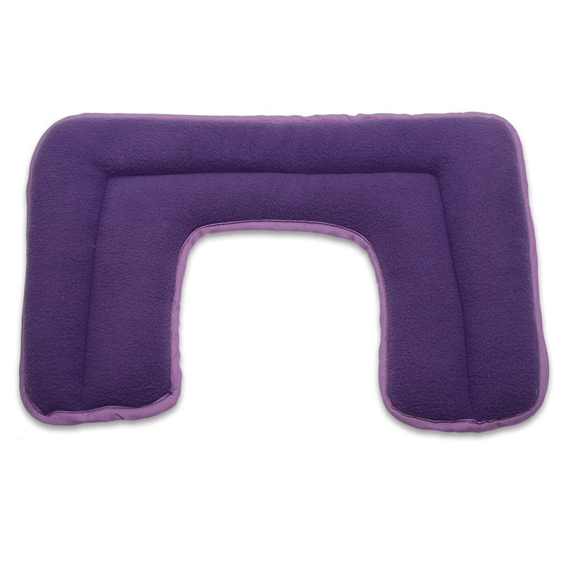 Zhu-Zhu Neck & Shoulder Heat Pad - Purple Fleece