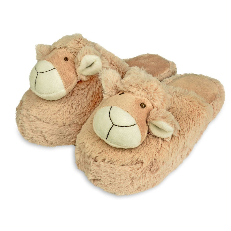 Zhu-Zhu Furry Animal Slippers - Sheep / Lamb