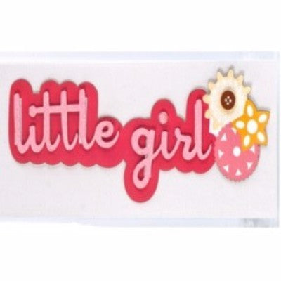 Dimensional Stickers - Little Girl