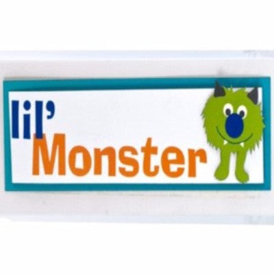 Dimensional Stickers - Little Monster