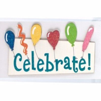 Dimensional Stickers - Celebrate